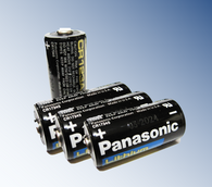 Panasonic CR123 3V Photo Lithium Batteries 4pc for StreamLight replace Surefire CR123 battery
