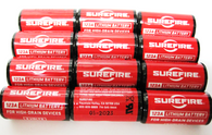 Surefire set of 12 123A 3 Volt Lithium Batteries for flaslights