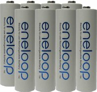 Eneloop Panasonic AAA New 2100 Cycle Rechargeable Batteries 8pac.