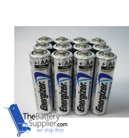 12 x Energizer AA L91 Ultimate Lithium Batteries