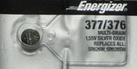 1 Energizer 377 376 SR626 AG4 LR626 LR66 606 SR66 177G4 Silver OX Battery