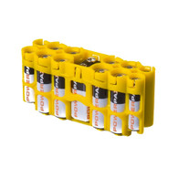 2 Pack A9 Pack Battery Caddy- Battery case - storAcell - Yellow