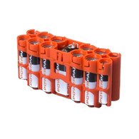 2 Pack A9 Pack Battery Caddy- Battery case - storAcell - Orange