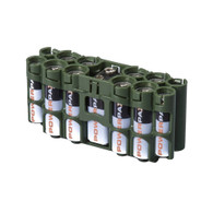 2 Pack A9 Pack Battery Caddy- Battery case - storAcell - Green