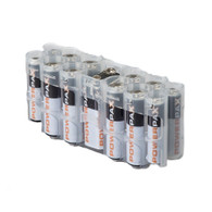 Pack of 2 A9 Pack Battery Caddy- Battery case - storAcell - Clear