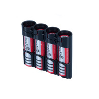18650 Battery Caddy - Black