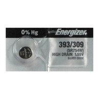 100 Energizer 393-309 Button Cell 1.55V Batteries - wholesale batteries
