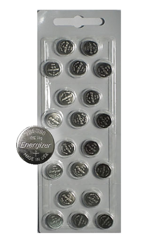 20 Energizer 394 Button Cell Silver Oxide Sr936sw Watch