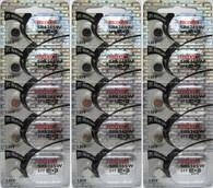 15 pack Maxell 377 SR626SW V377 D377 SR626
