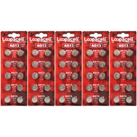 50 pack Hexbug compatible Button-Cell AG13/LR44 Batteries