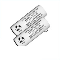 2 pack Medical Battery Fits Welch Allyn 72200 - 3.5V Nickel-Cadmium Rechargeable Battery - Model 72200
