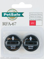 PetSafe RFA-67 6v Replacement Batteries for PIF-275 Wireless Dog Collar 2 packs (4 batteries)