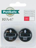 PetSafe RFA-67 6v LITHIUM Replacement Batteries