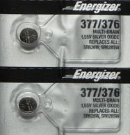Energizer 377 (2pk)-same as:377BP,377,D377,G4A177,GP376,GP377,L626,LR626,LR66,R 377/37,S32,S626S,,SG4,SP376,SP377,SR66,SR626,SR626SW,SR66,TR626W,V376