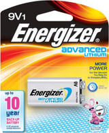 Energizer 9v Advanced lithium Battery (LA522) Exp. 2024