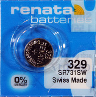 329 Battery For Lady Swatch Watch