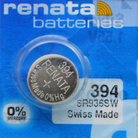 1.55V 394 Swatch Watch Replacement Battery for Square Chrono