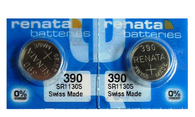 2 390 Watch Batteries for Gent Access / Gent Snowpass Swatch watch