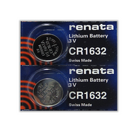 2 CR1632 Swatch Watch replacement Batteries for Beat Alu Medium