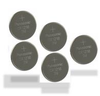 5 CR1216 Panasonic Lithium Batteries