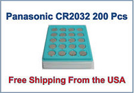 3V CR2032 BR2032 L2032 5004LC Lithium Button Cell Batteries  - 200 pk. wholesale