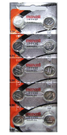 Strip of 10 Fresh Maxell LR1130 (189) 1.5v Alkaline Batteries