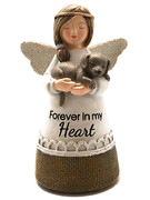 Little Blessing White Angel: Forever in My Heart(Dog)(ST7071)
