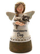 Little Blessing White Angel: Bless My Dog(ST7073)