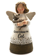 Little Blessing White Angel: Bless My Cat(ST7074)