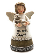 Little Blessing White Angel: You Are Loved(ST7077)