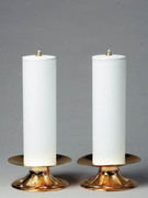 Gold Candle Holder for Altar (each)(CW591)