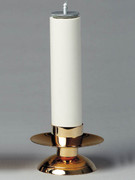 Gold Candle Holder for Altar (each)(CW642G)
