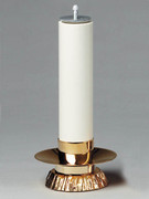 Gold Candle Holder for Altar (each)(CW647G)