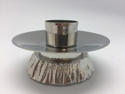 Silver Candle Holder for Altar (each)(CW647S)
