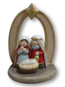 Mini Nativity Scene All-in-one 8cm(NST10003)
