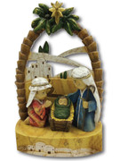 Kiddie Nativity Scene: All-in-One, 22cm(NST10014)