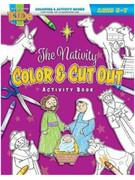 Children's Activity Book: Nativity Color & Cut (1684341610)