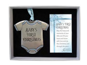 Christmas Ornament, Baby's 1st Christmas Blue(CO894B)