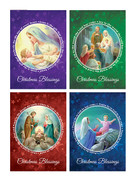Budget Christmas Cards Pack 8 (CDX2072)