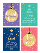 Budget Christmas Cards Pack 8 (CDX2073)