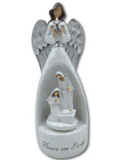 Musical Resin Nativity 25cm (NST10012)