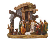 All-In-One Resin Nativity Scene (NST10130)