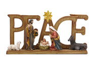 Nativity Scene PEACE (NST10123)