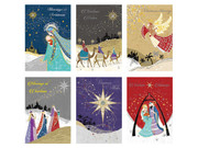 Hand Crafted Christmas Cards pack 6 (CD97699)