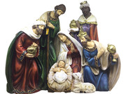 All-In-One Resin Nativity Scene 24cm (NS10019)