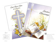 Greeting Cards: Easter Cross(pack 6)(CDE85642)