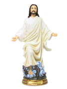 Resin Statue: Risen Christ, 30cm (STR1226)