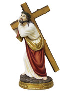 Resin Statue: Carrying the Cross, 30cm (STR12CR)