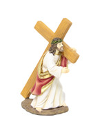 Resin Statue: Carrying the Cross, 10.5cm (STR3CR)