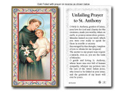Holy Card each: 734 SERIES - St Anthony